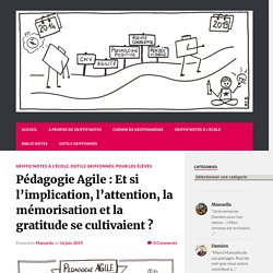 Pédagogie Agile : Et si l'implication, l'attention, la mémorisation et la gratitude se cultivaient ? - Griffo'Notes
