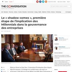 Le « shadow comex », première étape de l'implication des Millennials dans la gouvernance des entreprises