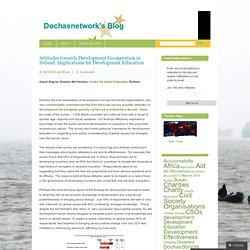Dóchas / Amarach poll 2013