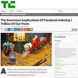 The Enormous Implications Of Facebook Indexing 1 Trillion Of Our Posts