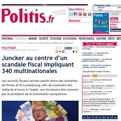 Juncker au centre d'un scandale fiscal impliquant 340 multinationales
