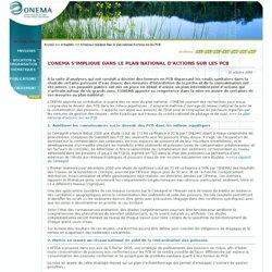 L'Onema s'implique dans le plan national d'actions sur les PCB > Actualités