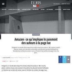 Amazon: ce qu'implique le paiement des auteurs à la page lue