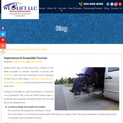 Importance of Accessible Tourism