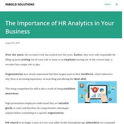 The Importance of HR Analytics in Your Business