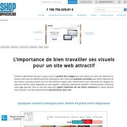L'importance de bien travailler ses visuels pour un site web attractif Creer site E commerce et site Web, logiciel E commerce