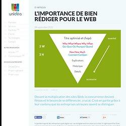 L'importance de bien rédiger pour le Web