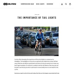 The Importance of Bike Tail Lights