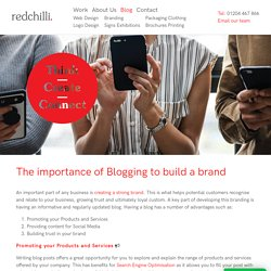 The importance of Blogging to build a brand