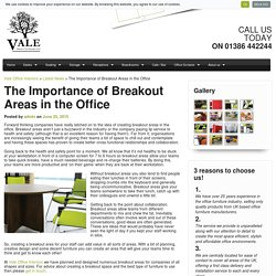 The Importance of Office Breakout Areas