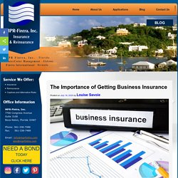 The Importance of Getting Business Insurance