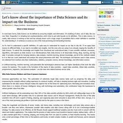 Importance of Data Science and its impact on the Business