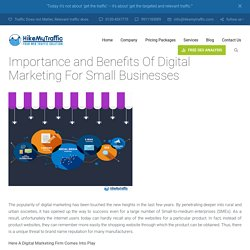How Digital Marketing Helps To Boost Small Business?