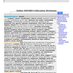 collocation examples, Usage and Definition