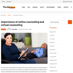 Importance of online counseling and virtual counseling - Thunda Funda