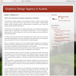 Graphics Design Agency in Austria: What is the importance of graphic designing in marketing
