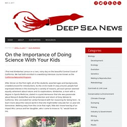 On the Importance of Doing Science With Your Kids