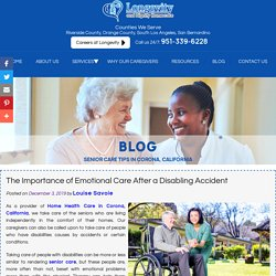 The Importance of Emotional Care After a Disabling Accident
