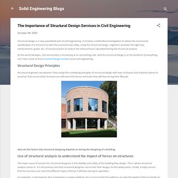 The Importance of Structural Design Services in Civil Engineering