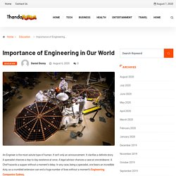 Importance of Engineering in Our World