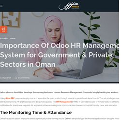 Importance Of Odoo HRMS for Government & Private Sectors in Oman