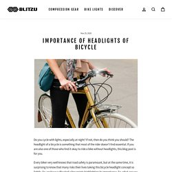 Importance of Headlights of Bicycle