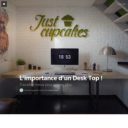 L'importance d'un Desk Top ! — L'inspiration vient en voyageant.