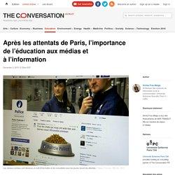 Après les attentats de Paris, l'importance de l'éducation aux médias et à l'information