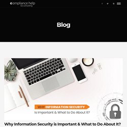 Why Information Security is Important & What to Do About It?