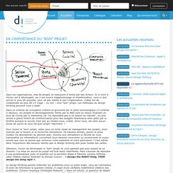 "De l'importance du ""bon"" projet - Centre de formation Design Innovation"