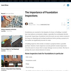 The Importance of Foundation Inspections