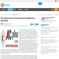 The importance of heat pump installation in Auckland