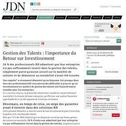 Gestion des Talents: l'importance du Retour sur Investissement