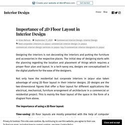 Importance of 2D Floor Layout in Interior Design – Interior Design