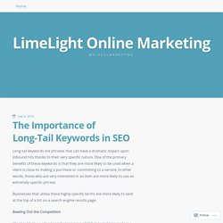 The Importance of Long-Tail Keywords in SEO