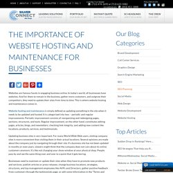 The Importance of Website Hosting and Maintenance for Businesses