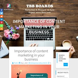 Importance of content marketing in your business