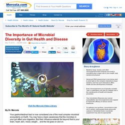 Importance of Microbial Diversity in Gut Health and Disease