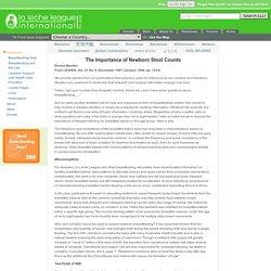 Importance of Newborn Stool Counts