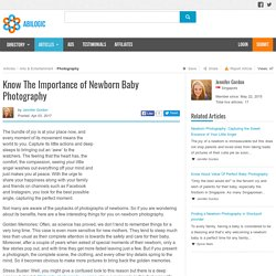 Know The Importance of Newborn Baby Photography