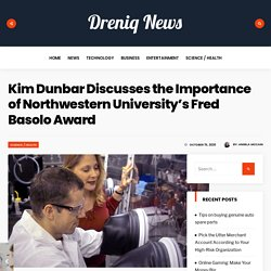 Kim Dunbar Discusses the Importance of Northwestern University's Fred Basolo Award