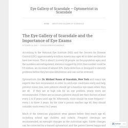 The Eye Gallery of Scarsdale and the Importance of Eye Exams