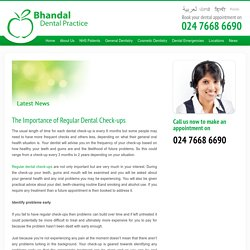 The Importance of Regular Dental Check-ups - Bhandal Dental Practice