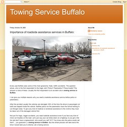 Importance of roadside assistance services in Buffalo: