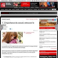 1. L'importance du sexuel, retrouver le désir