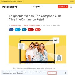 Importance of Shoppable Videos for eCommerce Platform