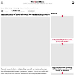 Importance of Soundcloud for Promoting Music