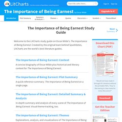 The Importance of Being Earnest Study Guide from LitCharts