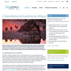 L'importance du tourisme en Afrique