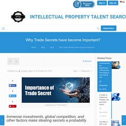 Importance of Trade Secret Protection in Intellectual Property Rights